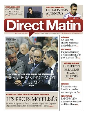 Direct Matin n°941 – 27 sept 2011