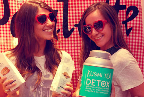 Kusmi Tea Party avec Marlette!