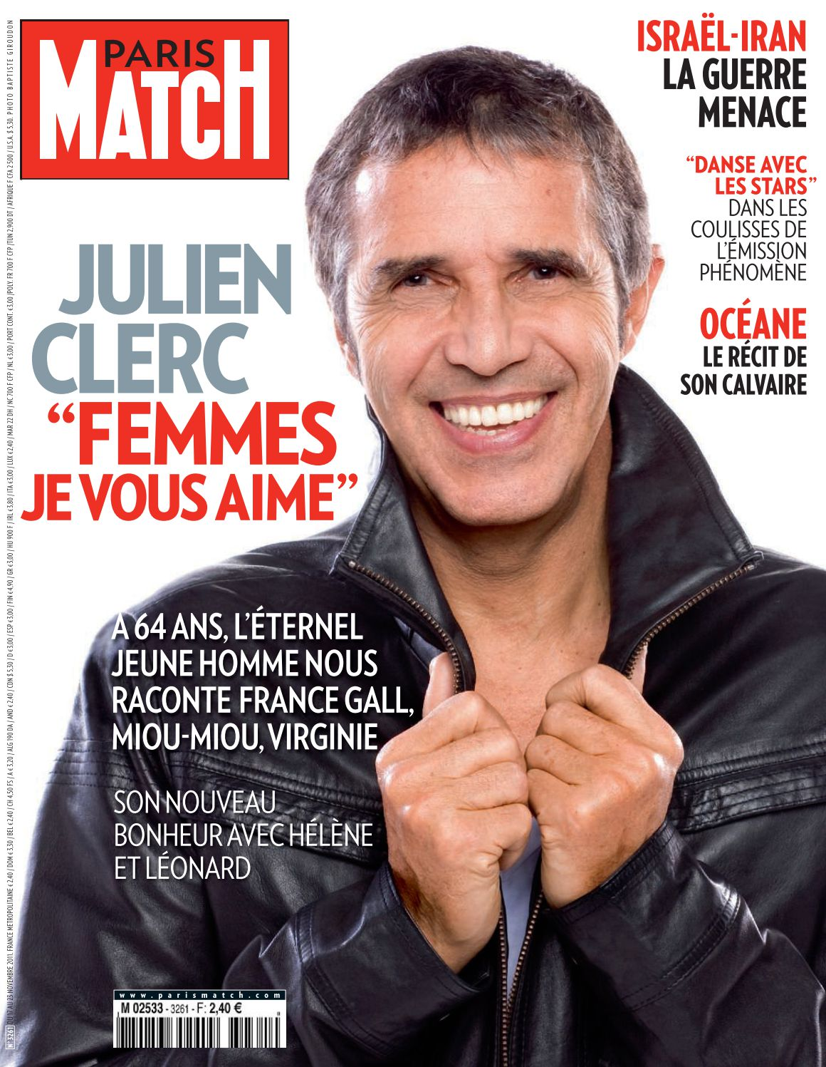 Paris Match n°3261 – Novembre 2011