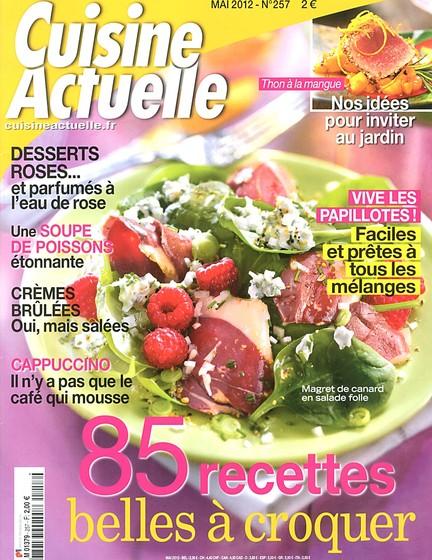 Cuisine actuelle n°257 – Mai 2012