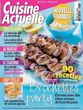 Cuisine Actuelle n°246 – Juin 2011
