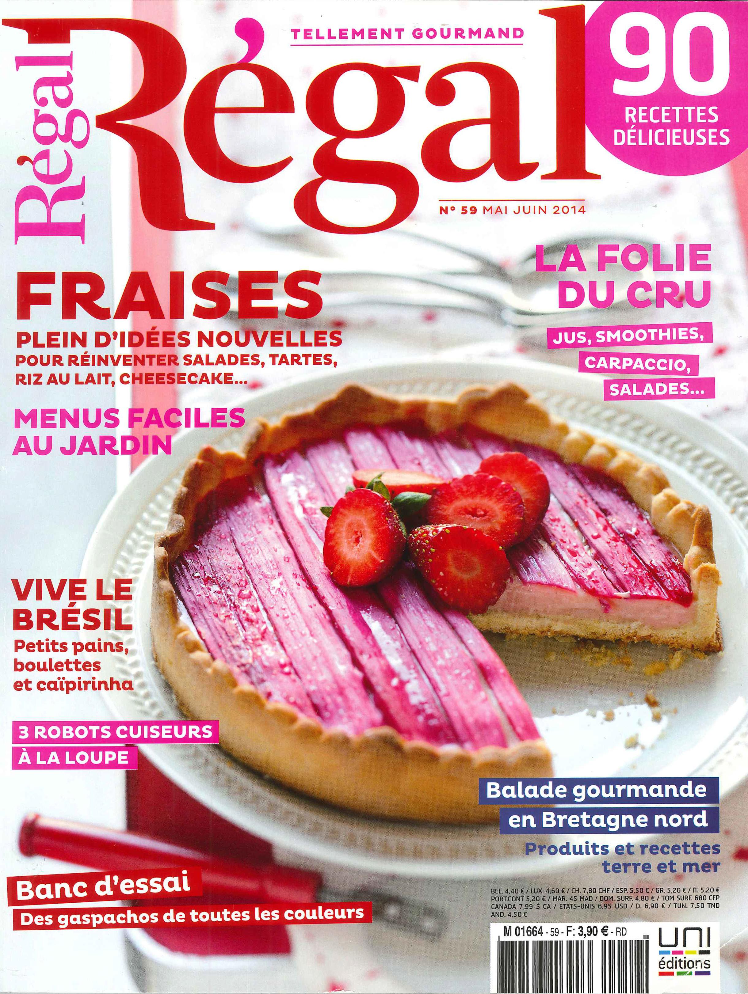 Régal n°59 Mai-Juin 2014