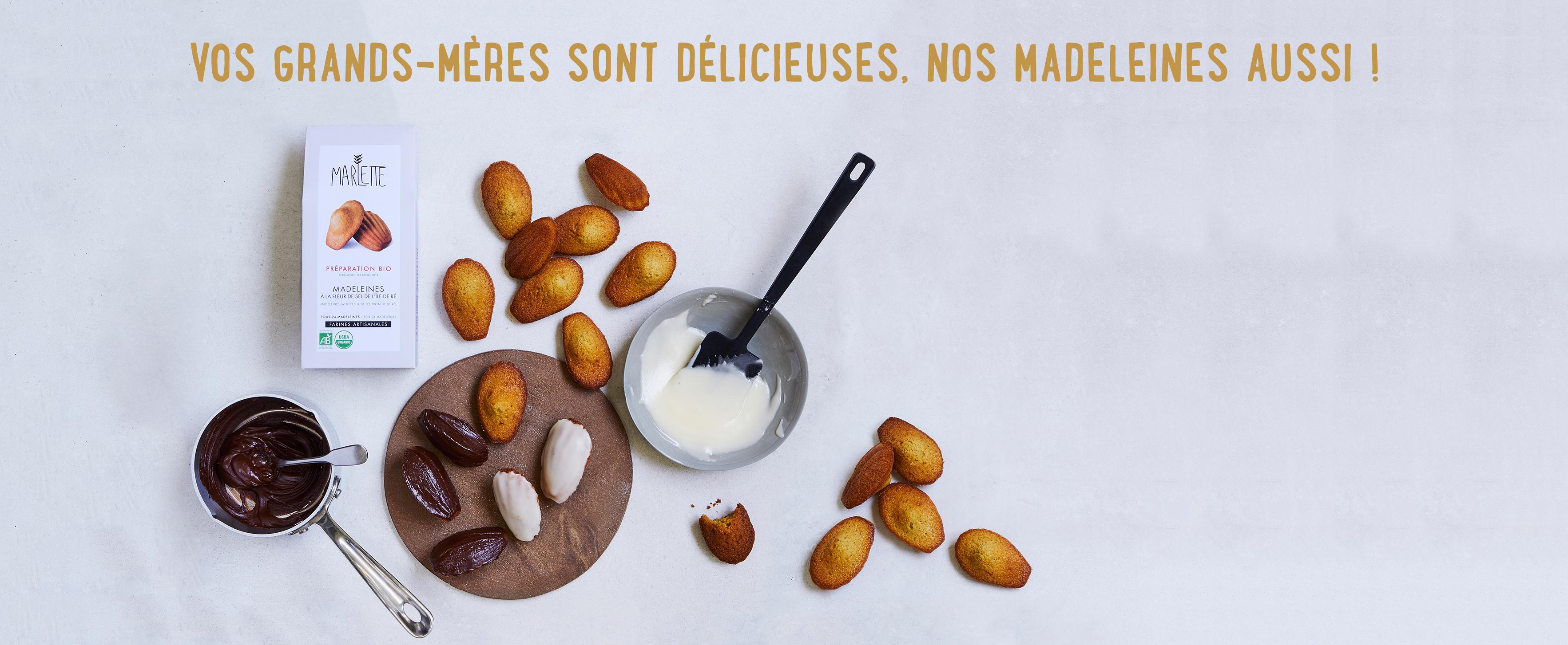 Recipes Madeleines