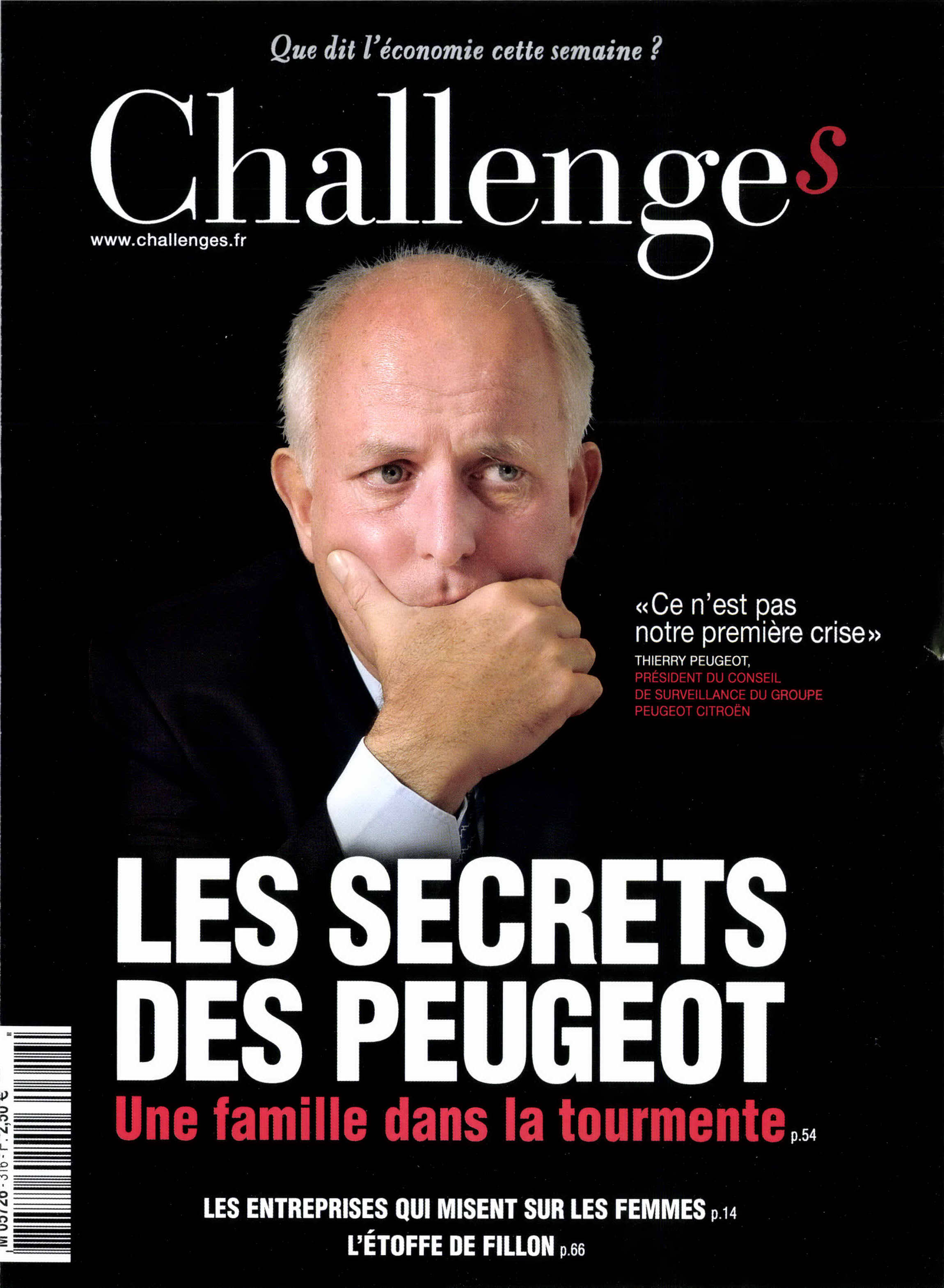 CHALLENGES n°316 – Septembre 12