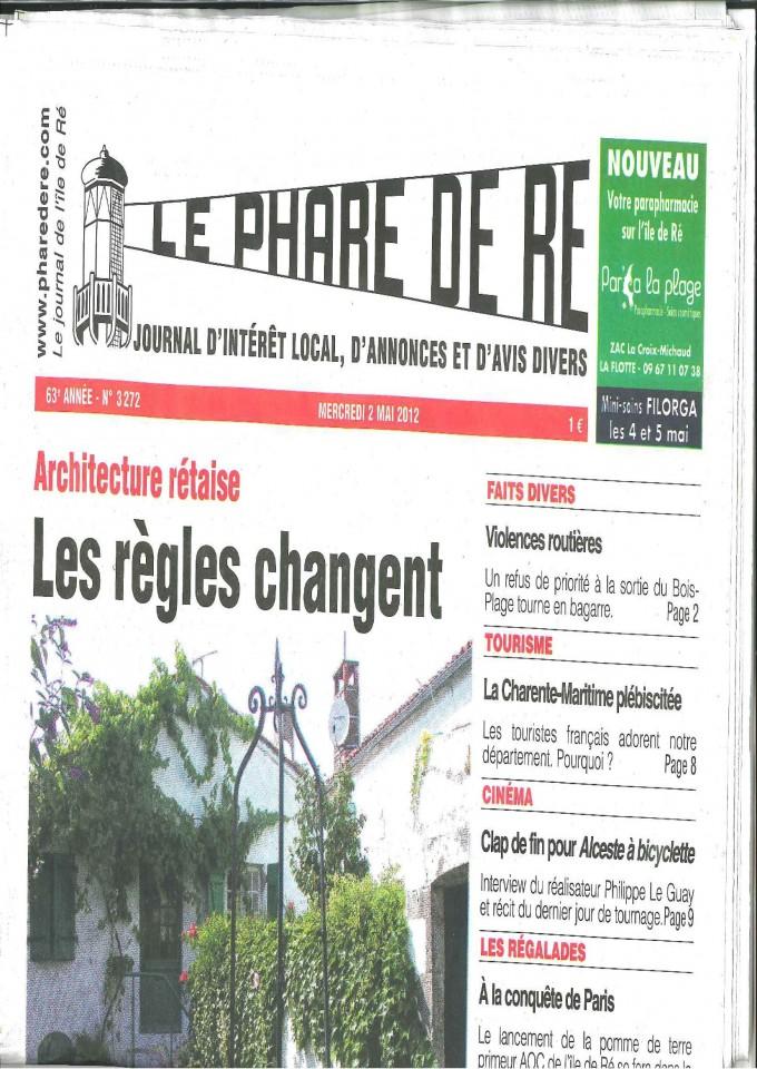Le phare de ré n°3272 – 2 Mai 2012