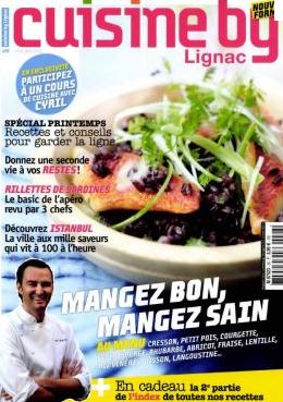 Cuisine by Lignac n°26 – mai 2011