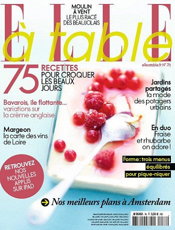 Elle à table n°76 – Mai 2011