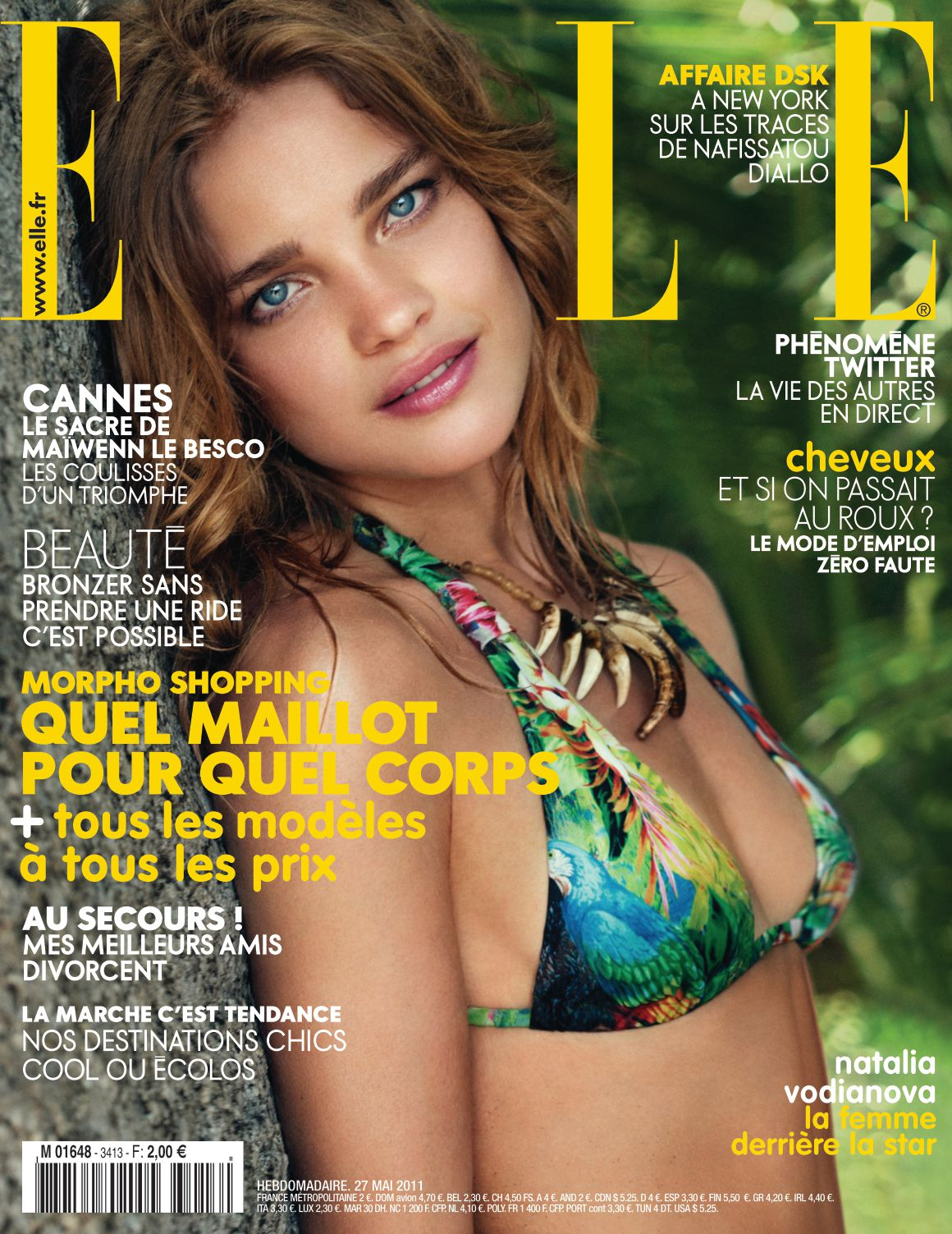 Elle n°3413 – Carnet Paris – Mai 11