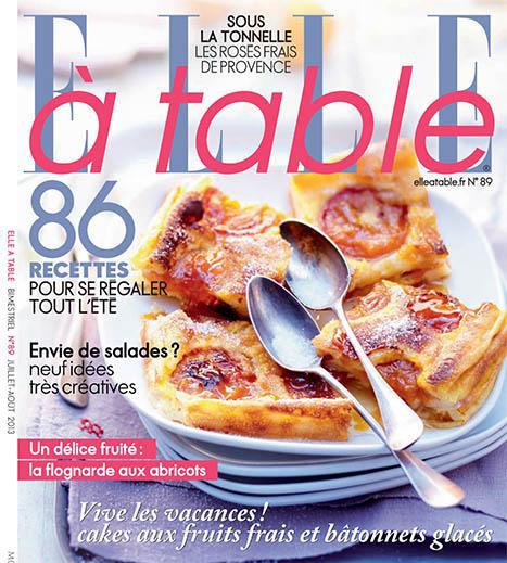Elle à table n°89 – Juillet 2013