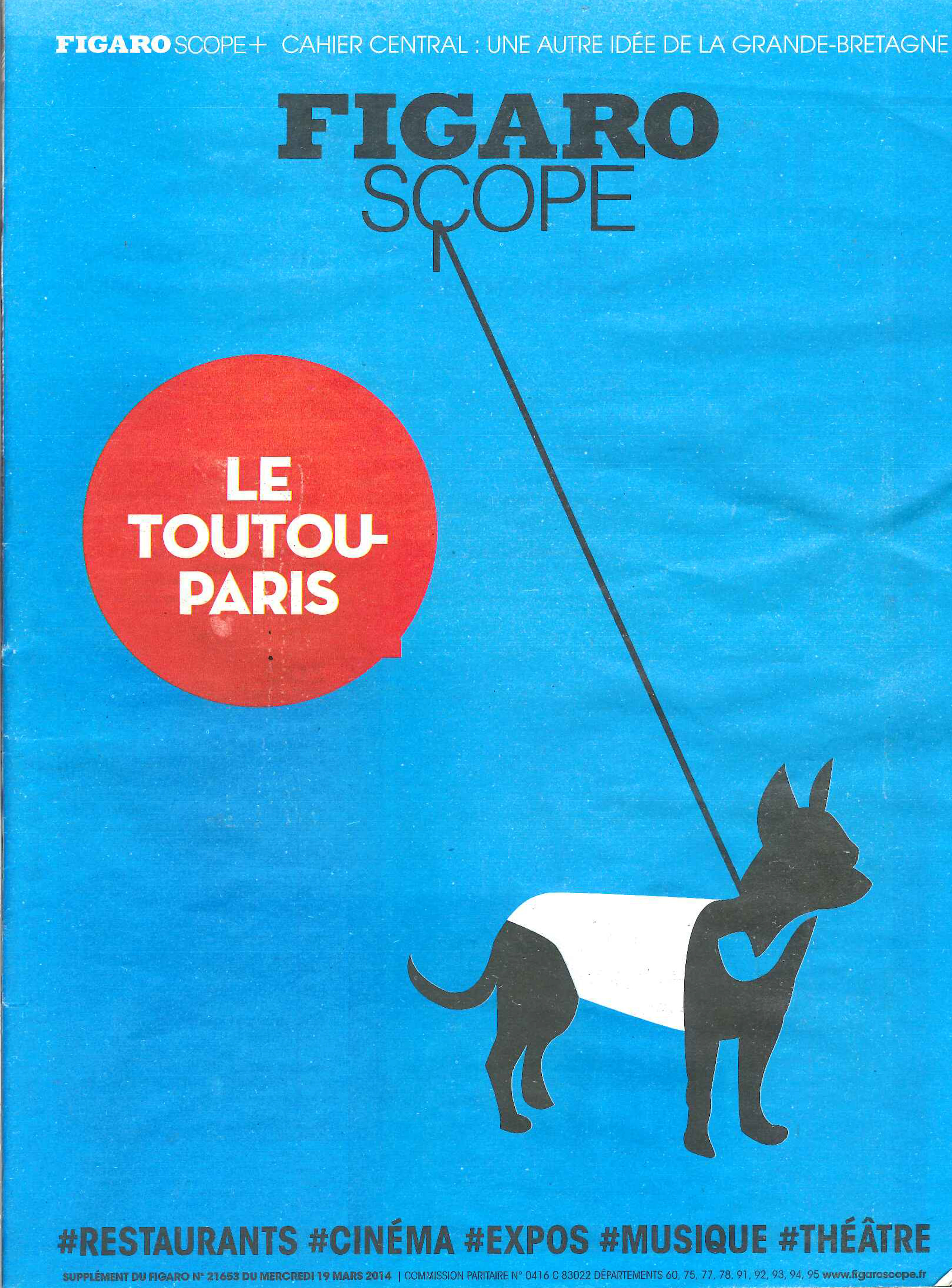 Figaroscope suppl. 21653 – 19/03/14