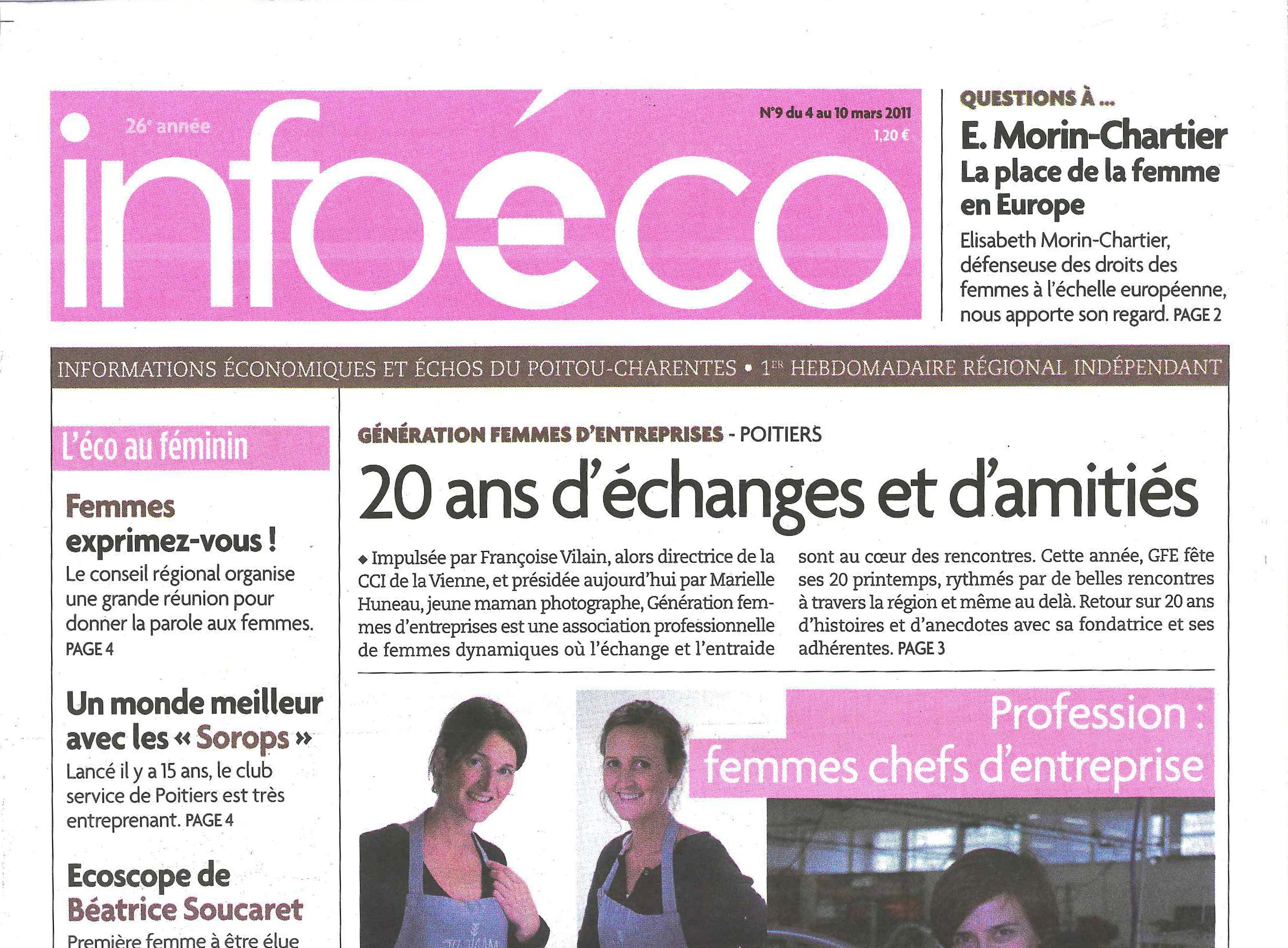 Info Eco n°9 – Mars 2011