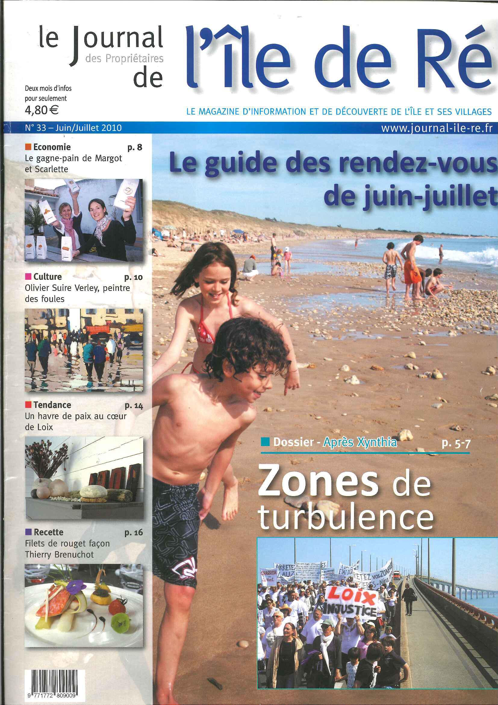 Journal de l'île de Ré n°33 – Juin 10