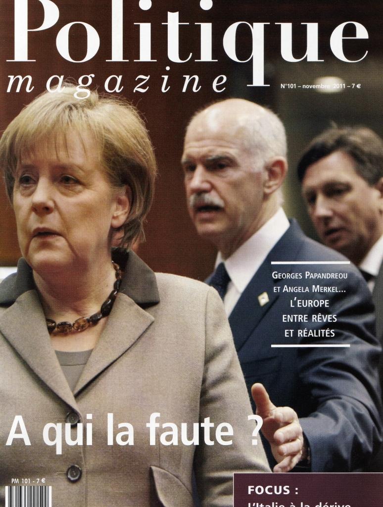Politique Magazine n°101 – 11/11