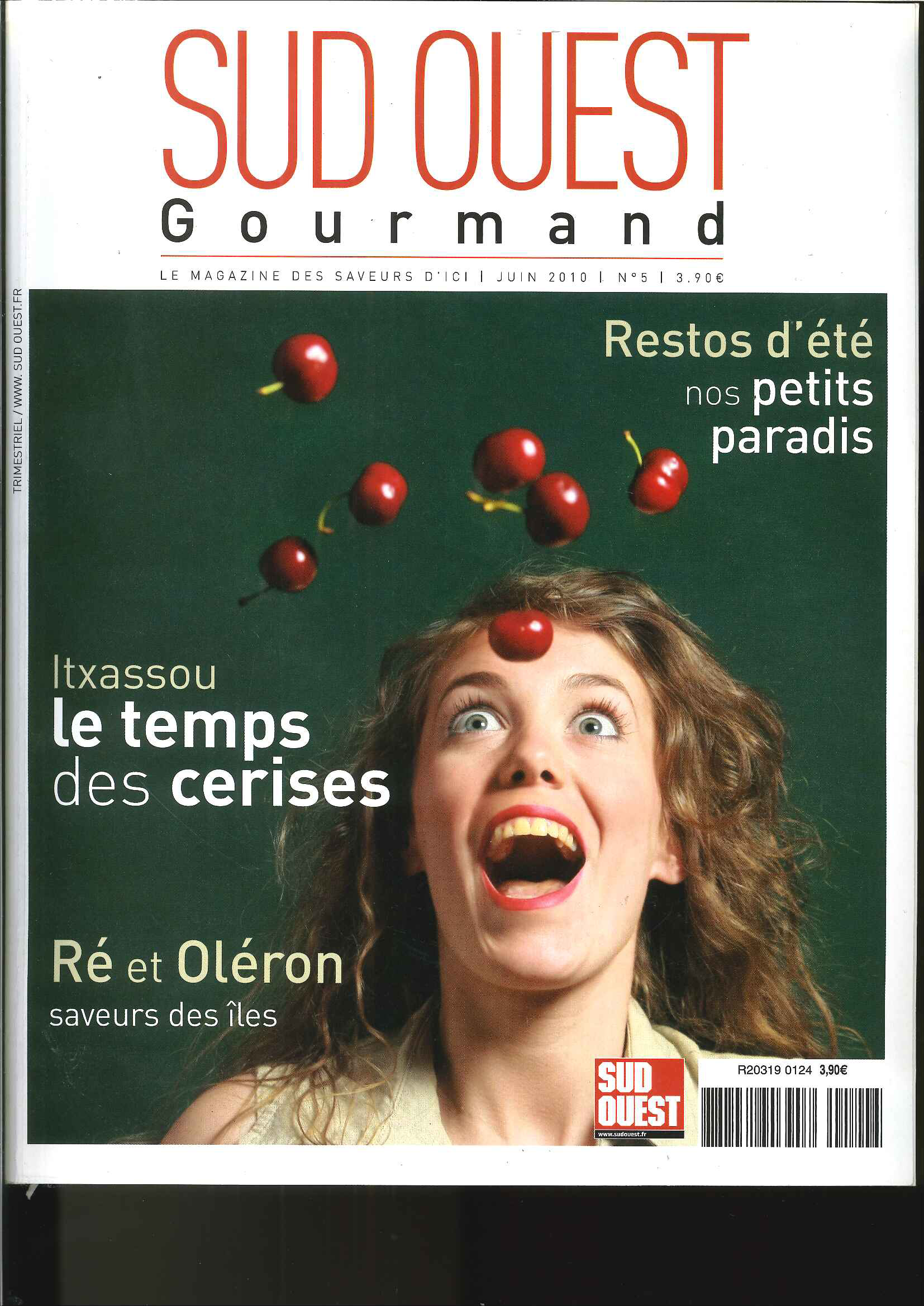 Sud Ouest Gourmand n°5 – Juin 2010