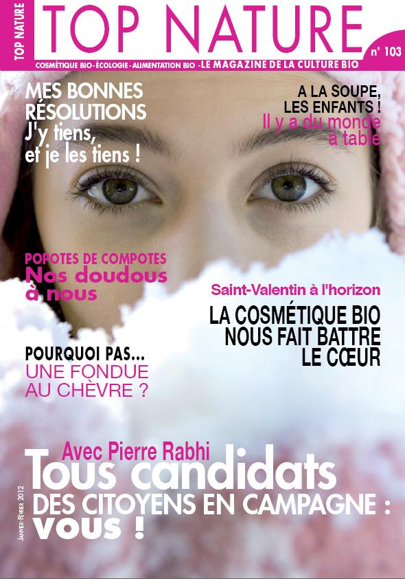 Top Nature n°103 – Janvier 2012