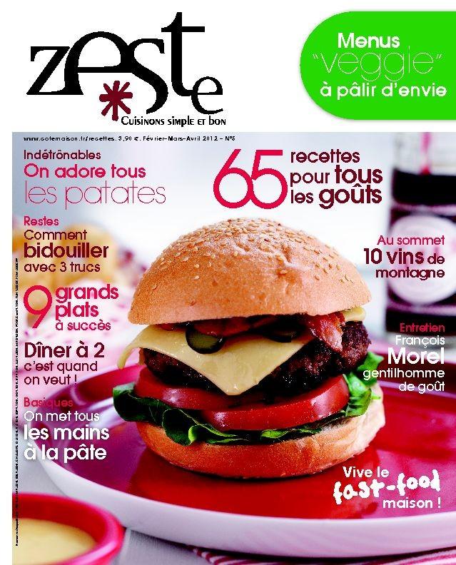 Zeste n°5 – Février 2012